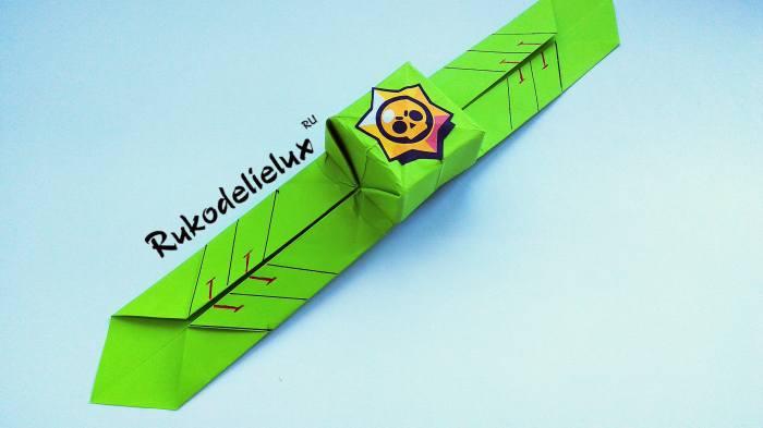 собрать бравл страс из бумаги часы браслет оригами