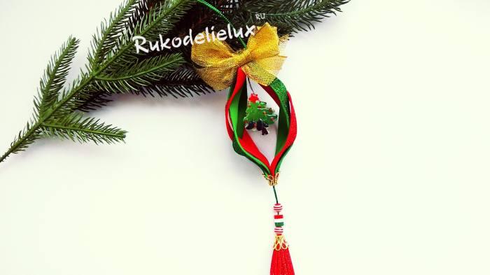 игрушка из фоамирана с елочкой своими руками пошагово
