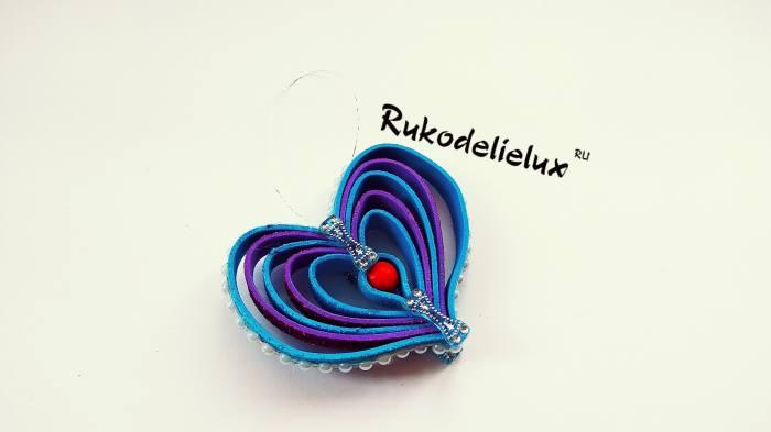 10 фото игрушки сердечко из фоамирана