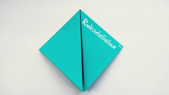 диагональ квадрата для поделки