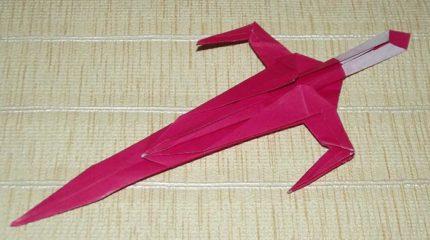 Как сделать меч из бумаги