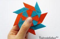 Спиннер из бумаги — как сделать пошагово своими руками