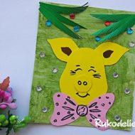 Как сделать свинью из бумаги — 10 способов